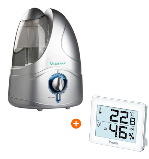 Aanbieding Medisana UHW met hygrometer